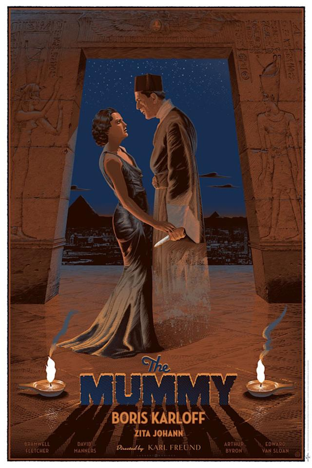 """The Mummy"" by Laurent Durieux"
