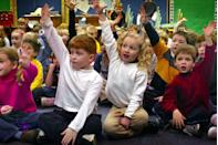 <p>A class of kindergarteners has a lot of questions after being visited by an Abe Lincoln look-alike for story time. </p>