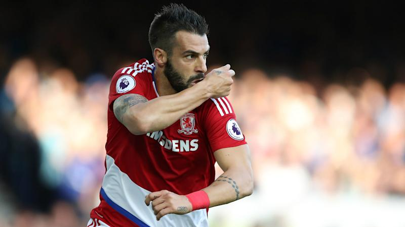 Alvaro Negredo Middlesbrough Everton Premier League