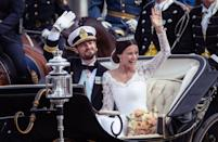 "<p>Prince Carl Phillip met Sofia Hellqvist met at a luncheon thrown by mutual friends of theirs, and both speak about their first meeting as ""love at first sight,"" <a href=""https://us.hellomagazine.com/royalty/2015060125541/prince-carl-philip-sofia-hellqvist-love-first-sight/"" rel=""nofollow noopener"" target=""_blank"" data-ylk=""slk:reports Hello!"" class=""link rapid-noclick-resp"">reports <em>Hello!</em></a></p><p>""I don't think I knew the magic of love before I met Sofia,"" said Carl Phillip, ""But ever since I met her, I've seen how love can change a person."" </p><p>""I completely agree,"" said Sofia. ""Carl Philip is definitely the right person for me. <span class=""redactor-unlink"">He's my best friend</span>.""</p>"