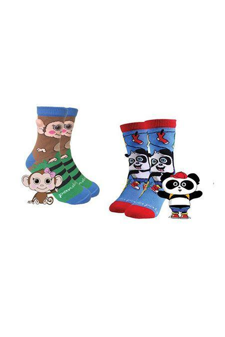 """<p>Sock Panda sends your kid two pairs a month (to compensate for the pairs that don't make it back from the dryer). For every pair you get, the <strong>company donates one to those in need.</strong> </p><p><em>From $12 per month<br>Ages: 3–7 </em></p><p><a class=""""link rapid-noclick-resp"""" href=""""https://go.redirectingat.com?id=74968X1596630&url=https%3A%2F%2Fwww.cratejoy.com%2Fsubscription-box%2Fsock-panda%2F&sref=https%3A%2F%2Fwww.goodhousekeeping.com%2Flife%2Fg5093%2Fsubscription-boxes-for-kids%2F"""" rel=""""nofollow noopener"""" target=""""_blank"""" data-ylk=""""slk:BUY NOW"""">BUY NOW</a></p>"""