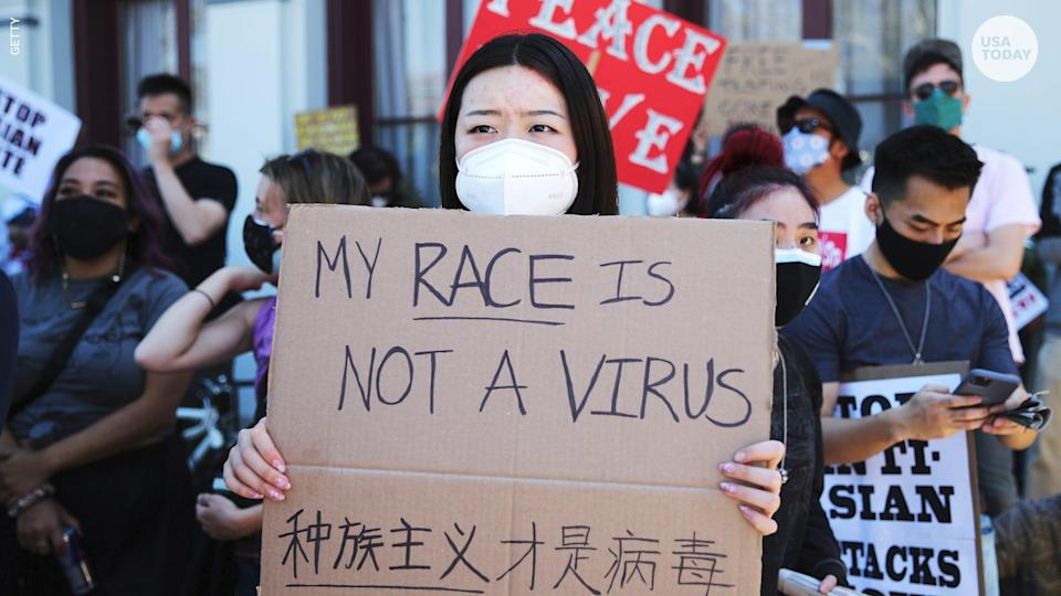 An anti-hate-crime law aims to prevent attacks on Asian Americans and Pacific Islanders, which have jumped amid the COVID-19 pandemic.