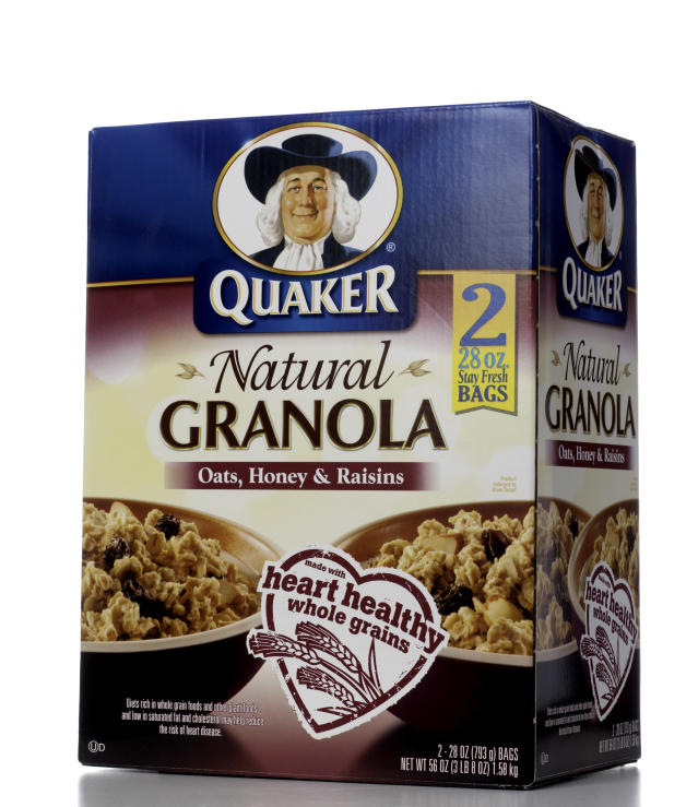 Quaker Natural Granola cereal. (Photo: Getty Images)
