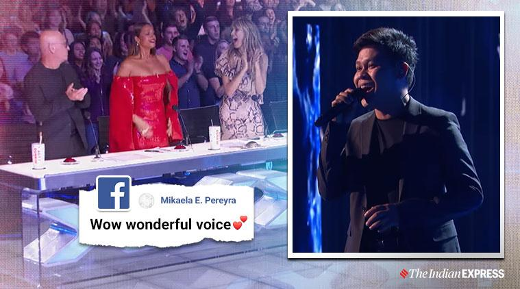 America's Got Talent, Agt champions, Marcelito Pomoy, Marcelito Pomoy agt champions performance, duel voice Marcelito Pomoy, viral news, indian express