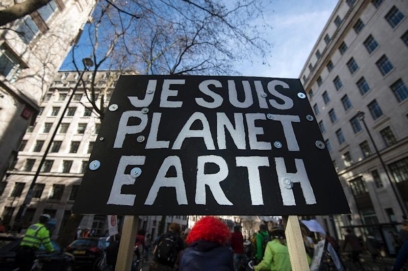 The planet is now on track for temperatures to rise 3.5 degrees (6.3 Fahrenheit) above pre-industrial levels, with a range of uncertainty between 2.1 and 4.6 Celsius, said analysis, produced with the Massachusetts Institute of Technology (AFP Photo/Niklas Halle'n)