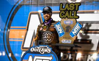 <em>David Gravel (Trent Gower/World of Outlaws).</em>