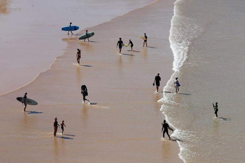 Several beaches have been closed across Australia after many failed to adhere to the social distancing restrictions implemented. Source: Getty