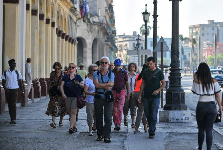 The United States is seeking to hurt Cuba's booming tourism industry by blocking its airlines' access to leased aircraft