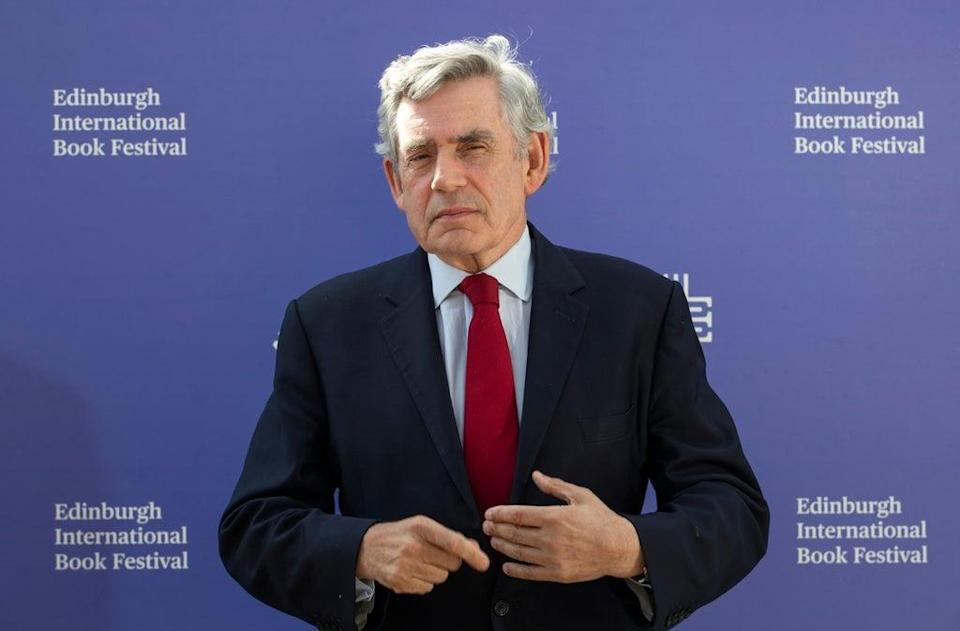 Gordon Brown welcomes support for an emergency G7 summit on vaccines (Jane Barlow/PA) (PA Archive)