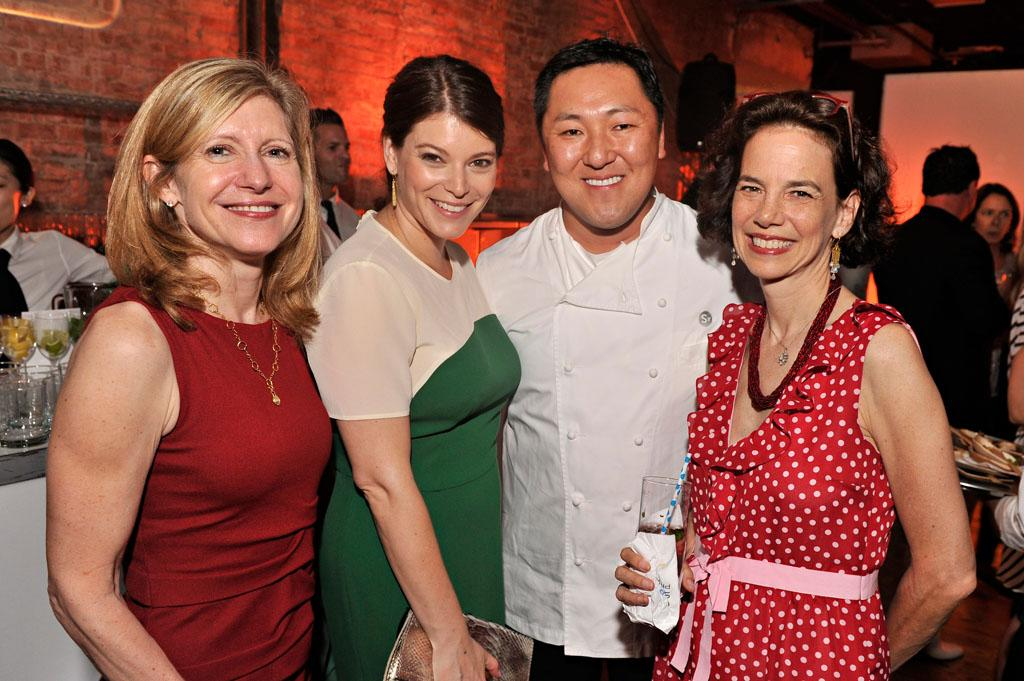 "Frances Berwick, Gail Simmons, and Sang Yoon attend the ""Top Chef Masters"" Season 5 Premiere Tasting Event presented by Chase Sapphire Preferred at 82 Mercer on Tuesday, July 16, 2013 in New York."