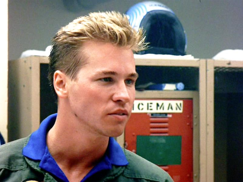 "LOS ANGELES - MAY 16: The movie ""Top Gun"", directed by Tony Scott. Seen here, Val Kilmer as Lt. Tom 'Iceman' Kazansky. Initial theatrical release May 16, 1986. Screen capture. Paramount Pictures. (Photo by CBS via Getty Images)"
