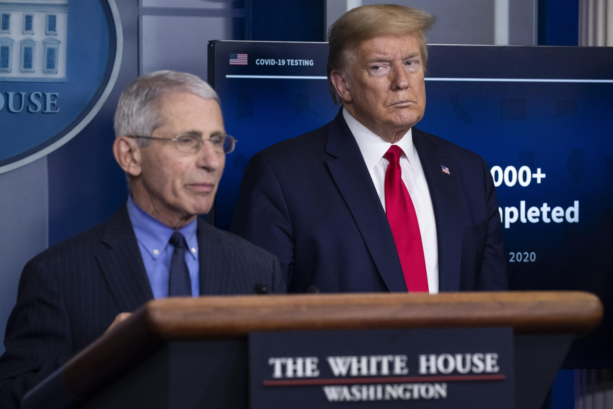 Trump threatens to fire Fauci in rift with disease expert