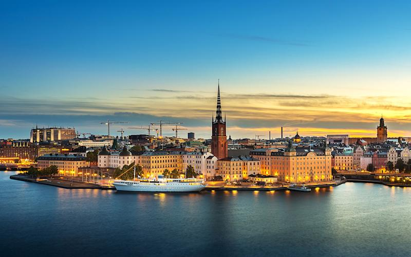 Now lockdown-free Sweden has been placed on the quarantine-free list, Britons might be tempted to visit - getty