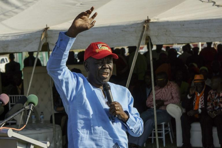 Zimbabwe opposition leader admitted in South African hospital for cancer treatment