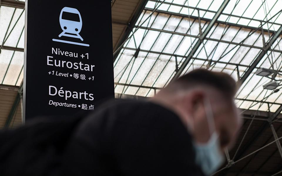 Many British holidaymakers will be headed for Gare du Nord, where France's Eurostar terminus is based - Adrienne Surprenant/Bloomberg