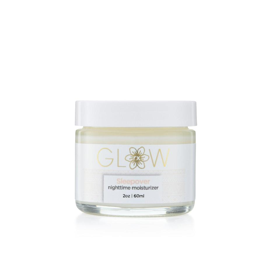 """<h3>Glow Rx</h3><br>No 10-step routines or busy ingredients lists here: Board-certified pediatrician Dr. Lorraine Beraho started GlowRx with teenagers and young adults in mind, which is why the brand takes a pared-down approach to an effective skin-care regimen. With potent yet gentle botanicals in every formula and products like a fast-absorbing night cream packed with vitamins, the line has everything you need to start 'em young for a lifetime of glowy skin.<br><br><strong>GlowRx</strong> Sleepover Nighttime Face Moisturizer, $, available at <a href=""""https://go.skimresources.com/?id=30283X879131&url=https%3A%2F%2Fwww.glowrxskin.com%2Fproducts%2Faloe-hydrating-night-cream"""" rel=""""nofollow noopener"""" target=""""_blank"""" data-ylk=""""slk:GlowRx"""" class=""""link rapid-noclick-resp"""">GlowRx</a>"""