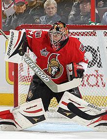 Craig Anderson's stats line has been marred by a couple blowouts, but he won six of his first nine games