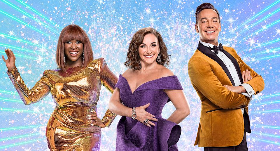 Motsi Mabuse, Shirley Ballas, Craig Revel Horwood The Strictly Come Dancing 2020 judges (BBC)