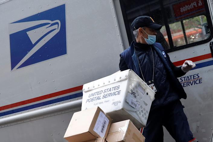"""The post office competes with private companies and is supposed to fund its own operations. <p class=""""copyright"""">Reuters</p>"""