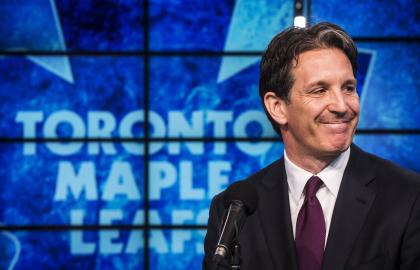 Quintal took over NHL discipline on an interim basis when Shanahan joined the Leafs last April. (Reuters)