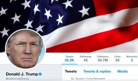 Trump appeals ruling over blocking followers on Twitter