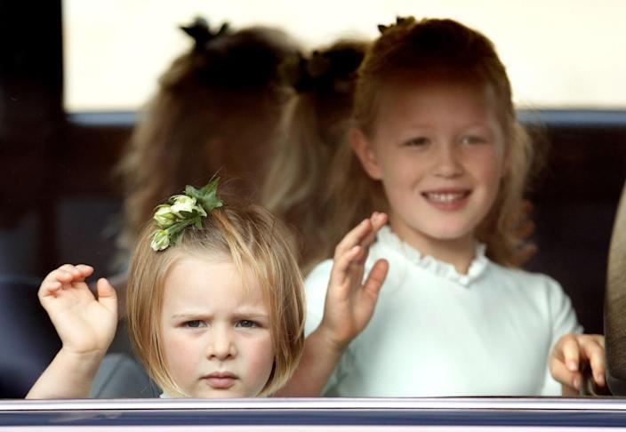 """<p>Definitely less of a scandal, and more of a royal wedding mystery, Internet sleuths took it upon themselves to discover what Mia Tindall was photographed holding in <a href=""""https://www.harpersbazaar.com/celebrity/latest/a23764107/what-is-mia-tindall-holding-princess-eugenie-official-royal-wedding-portraits-bridesmaids/"""" rel=""""nofollow noopener"""" target=""""_blank"""" data-ylk=""""slk:Princess Eugenie's wedding portraits"""" class=""""link rapid-noclick-resp"""">Princess Eugenie's wedding portraits</a>. The conclusion? An inhaler. Case closed.</p>"""