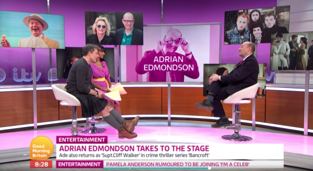 Ade Edmondson appeared on GMB on Friday, 29 November. (ITV)