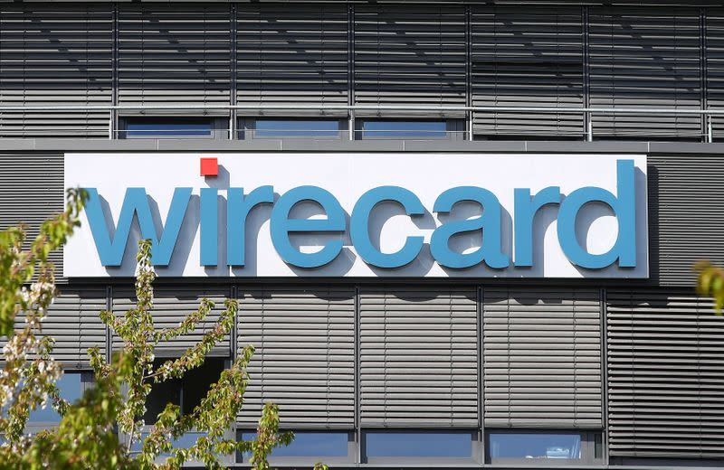 FILE PHOTO: The headquarters of German payments company Wirecard