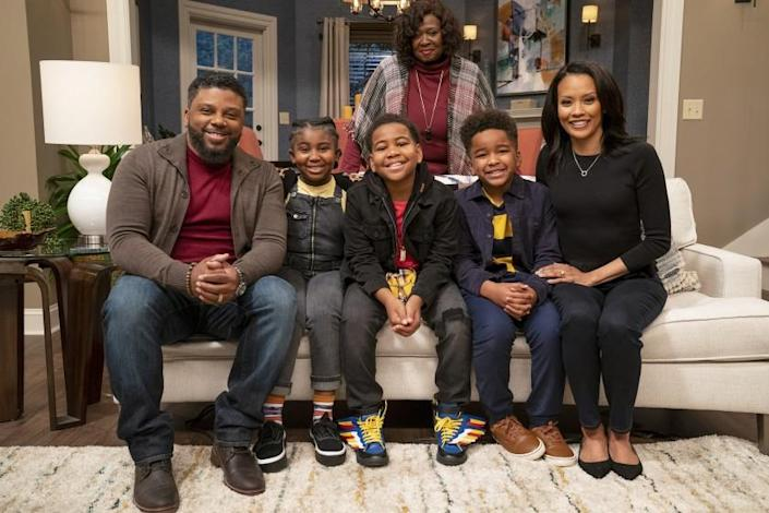 """The cast of """"Tyler Perry's Young Dylan."""""""