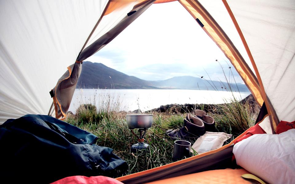 Rediscover the simple pleasure of camping - getty