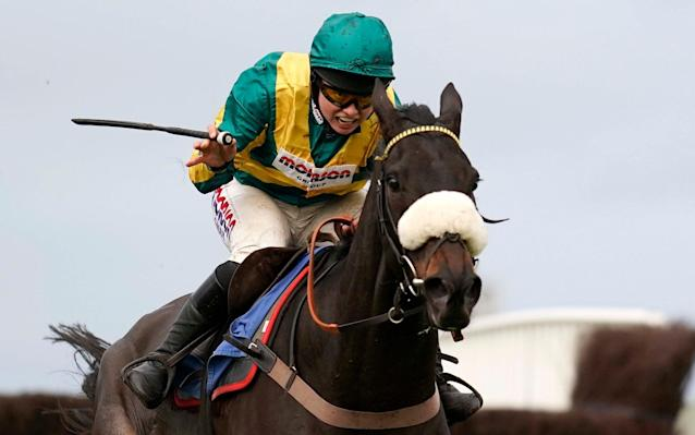 Present Man is attempting a hat-trick in the Badger Beers Silver Trophy at Wincanton - Getty Images Europe