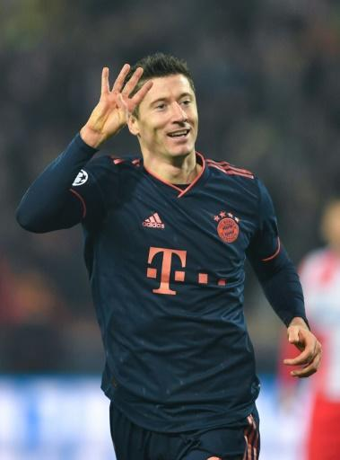 Robert Lewandowski scored four goals in a Champions League game for the second-time in his career having also hit four against Real Madrid in the 2013 semi-finals for former club Dortmund