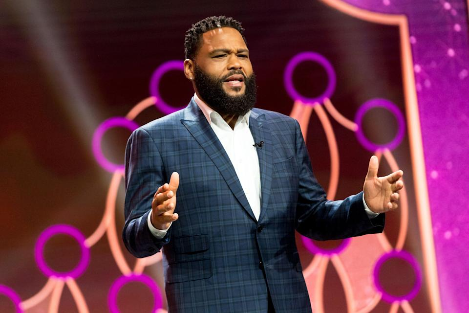 Anthony Anderson during the Make-Up Artists & Hair Stylists Guild Awards, April 3, 2021.