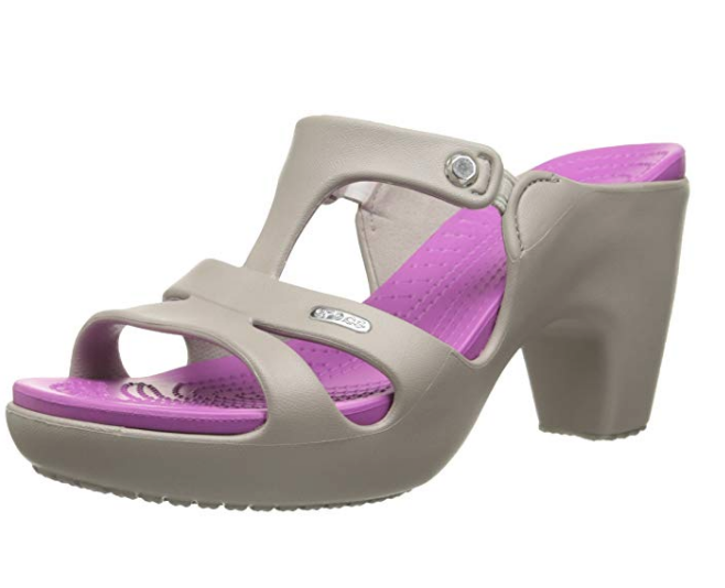 0b507d0da Crocs Is Surprised the Internet Thinks Its High Heels Are Cool