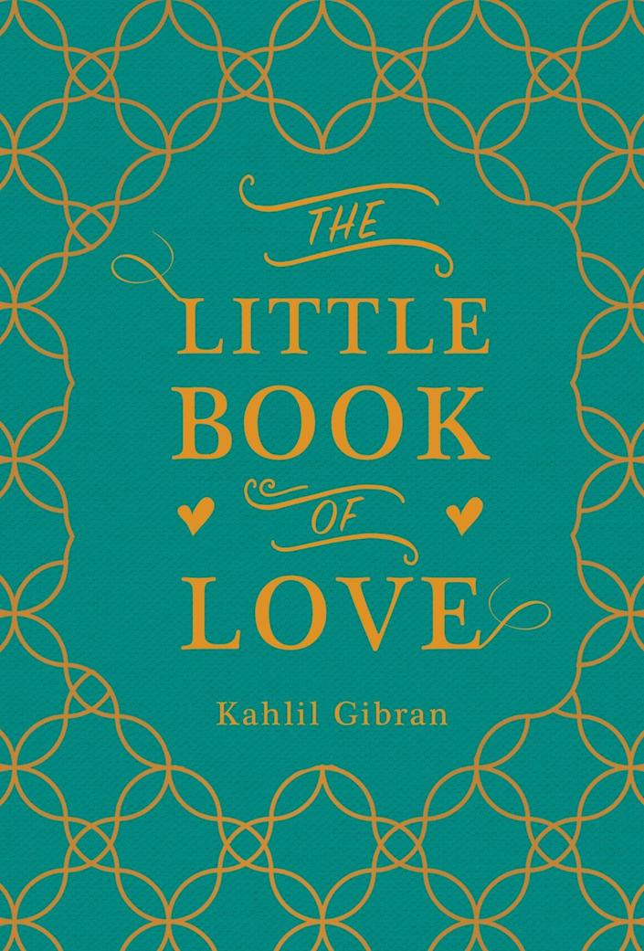 <p>A book of inspiring quotes, advice, and exercises to make a relationship last. </p> <p><span>The Little Book of Love</span> ($10)</p>