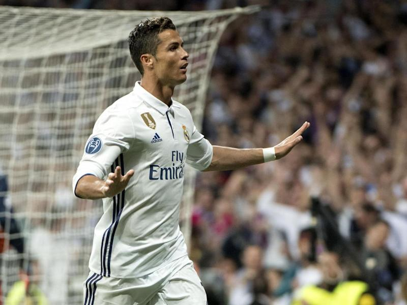 Ronaldo calmed things down with his superb header (Getty)