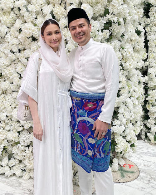 Scha Alyahya also made an appearance despite giving birth to her second child only last month