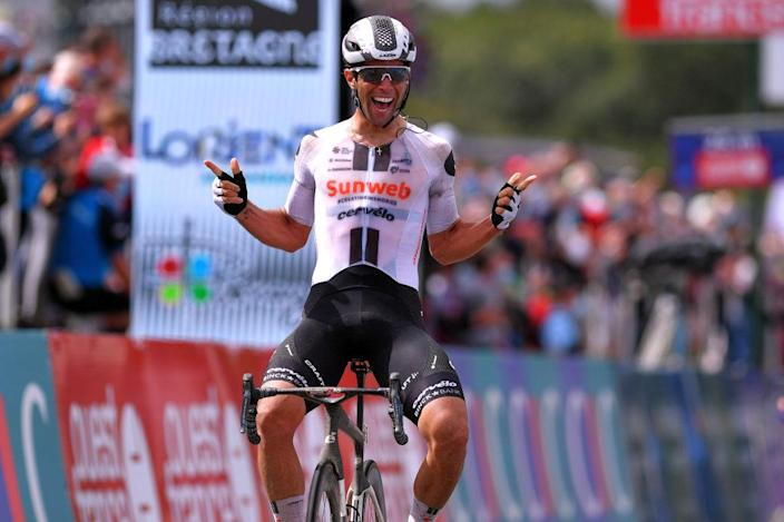 Sunweb's Michael Matthews wins the 2020 Bretagne Classic-Ouest France