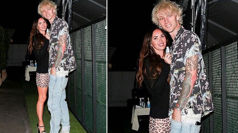 Megan Fox Spotted With Machine Gun Kelly As They Step Out For A Dinner Date In Santa Monica!