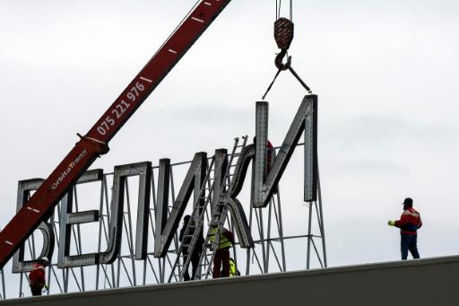 In February, workers began removing 'Alexander the Great' name from Skopje's airport after Macedonia pledged to change it