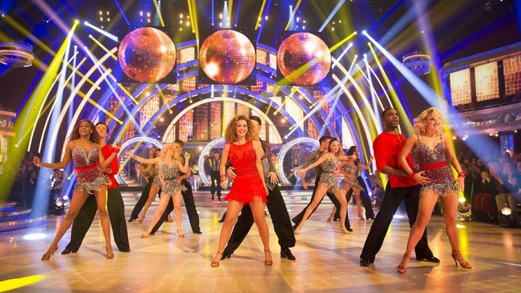 Strictly Come Dancing putting on the finale glitz