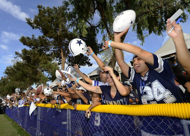 Cowboys, Steelers fans rank as NFL's 'best,' new study finds
