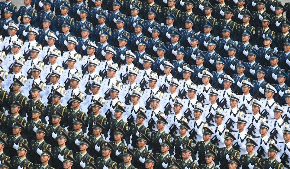 "China aims to build a ""fully modern army"" by 2027. Photo: Xinhua"