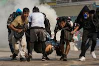 More than 800 people have been killed and thousands wounded by security forces cracking down on pro-democracy protesters in Myanmar