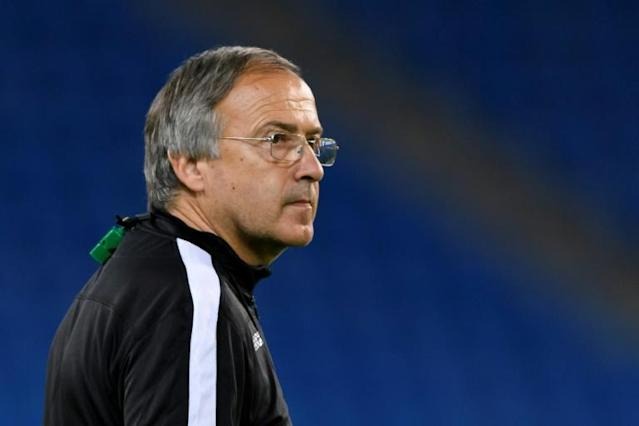 Georgi Dermendzhiev, who led Ludogorets to three Bulgarian titles, is in line to take over as Bulgaria coach (AFP Photo/FABRICE COFFRINI)