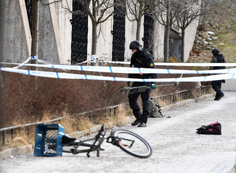Police dismiss 'hand grenade' theory after exploding object kills man in Stockholm