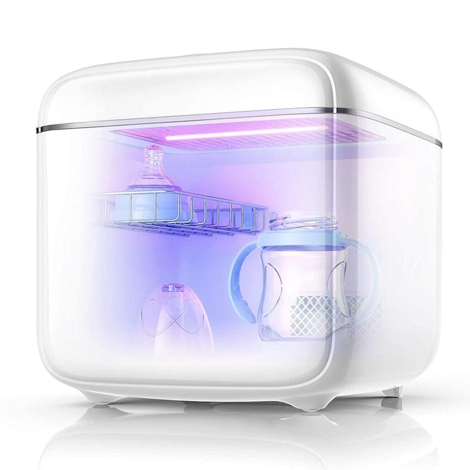 <p>This popular <span>UV Light Sanitizer UV Sterilizer Box</span> ($160) has great reviews and customers love using it for baby bottles.</p>