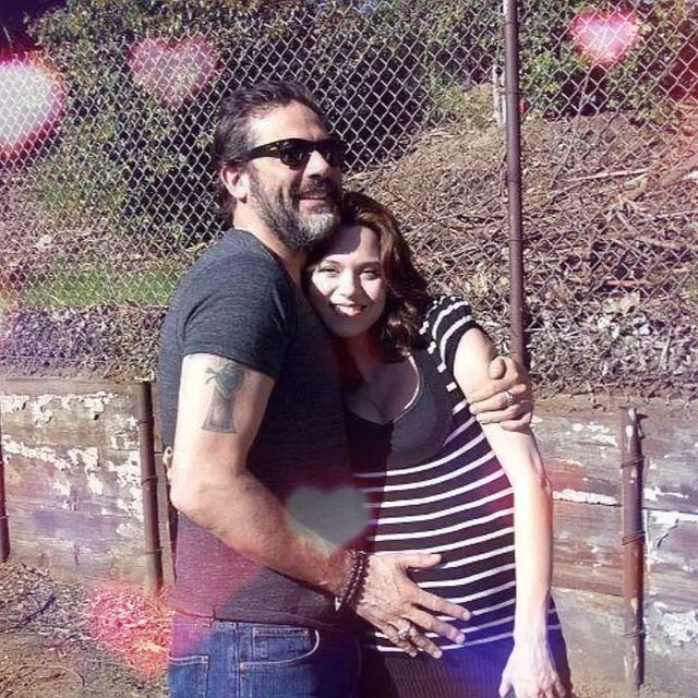 <p>The <em>One Tree Hill</em> alum shared a throwback image of her and her husband Jeffrey Dean Morgan to commemorate the romantic holiday.</p>