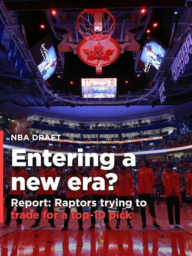 According to Marc Stein of the New York Times, the Raptors are currently pursuing a trade option to land a top-10 pick in the NBA draft later this week, and that nobody is off the table.