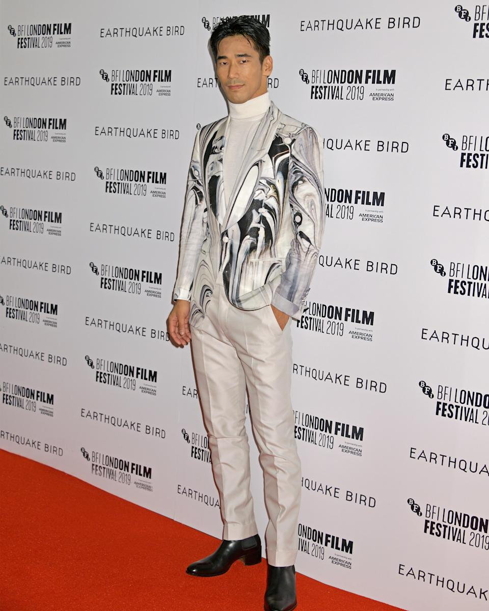 """<h1 class=""""title"""">October 10: Naoki Kobayashi</h1> <div class=""""caption""""> Naoki Kobayashi knows the rule: When in doubt, wear Tom Ford. </div> <cite class=""""credit"""">Getty Images</cite>"""